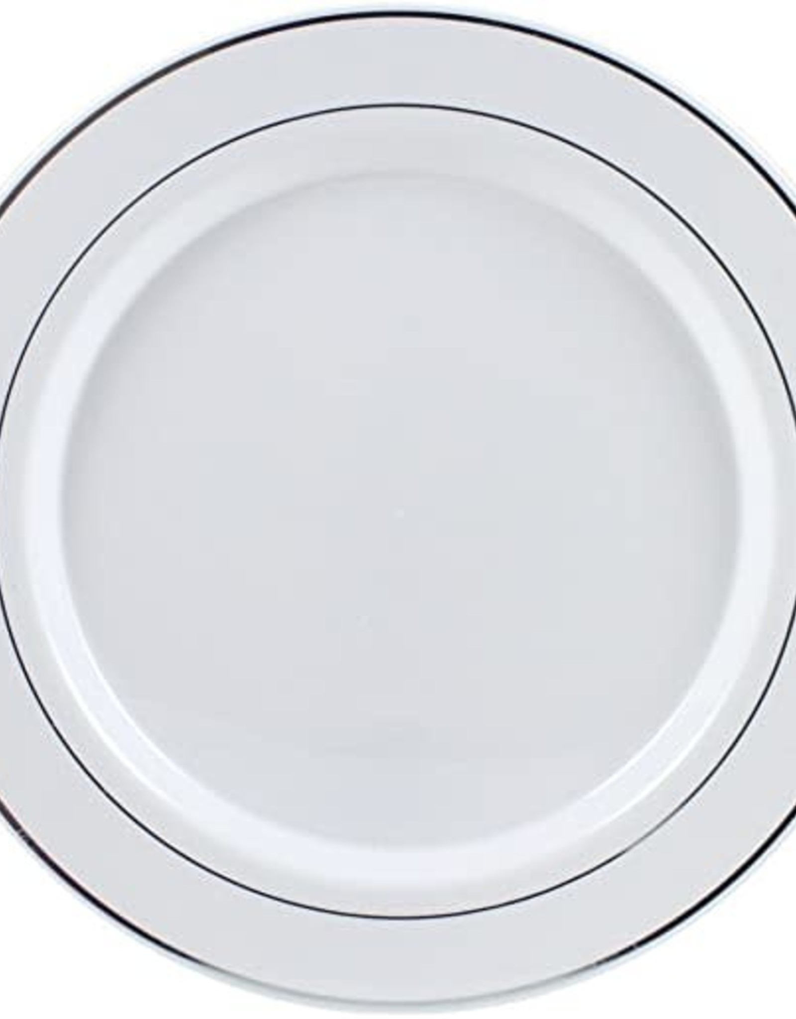"7 1/2"" plastic plates 10 count"