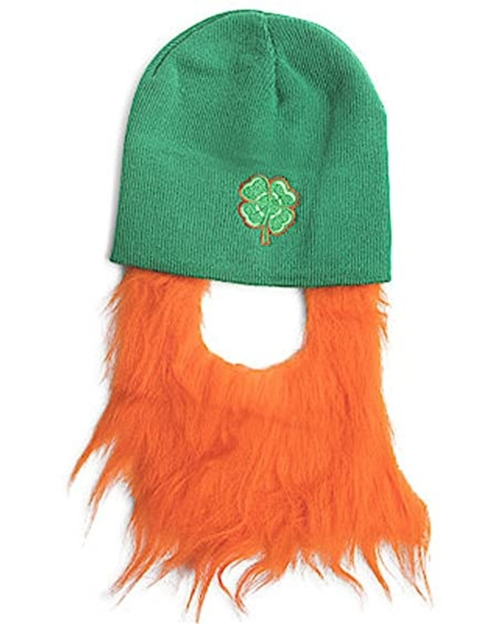 Wallys party factory Knit Beanie with Beard