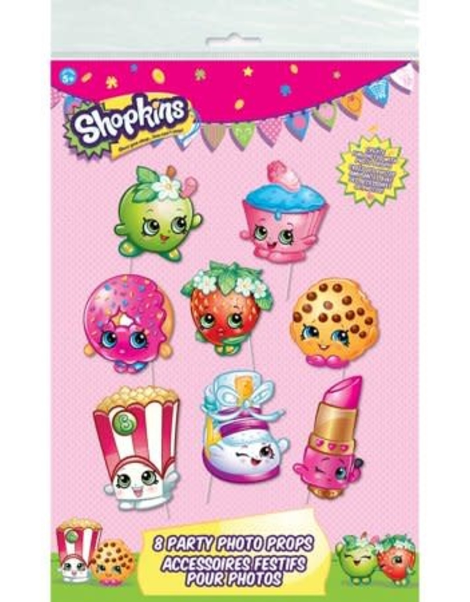 Wallys party factory Shopkins Party Photo Props