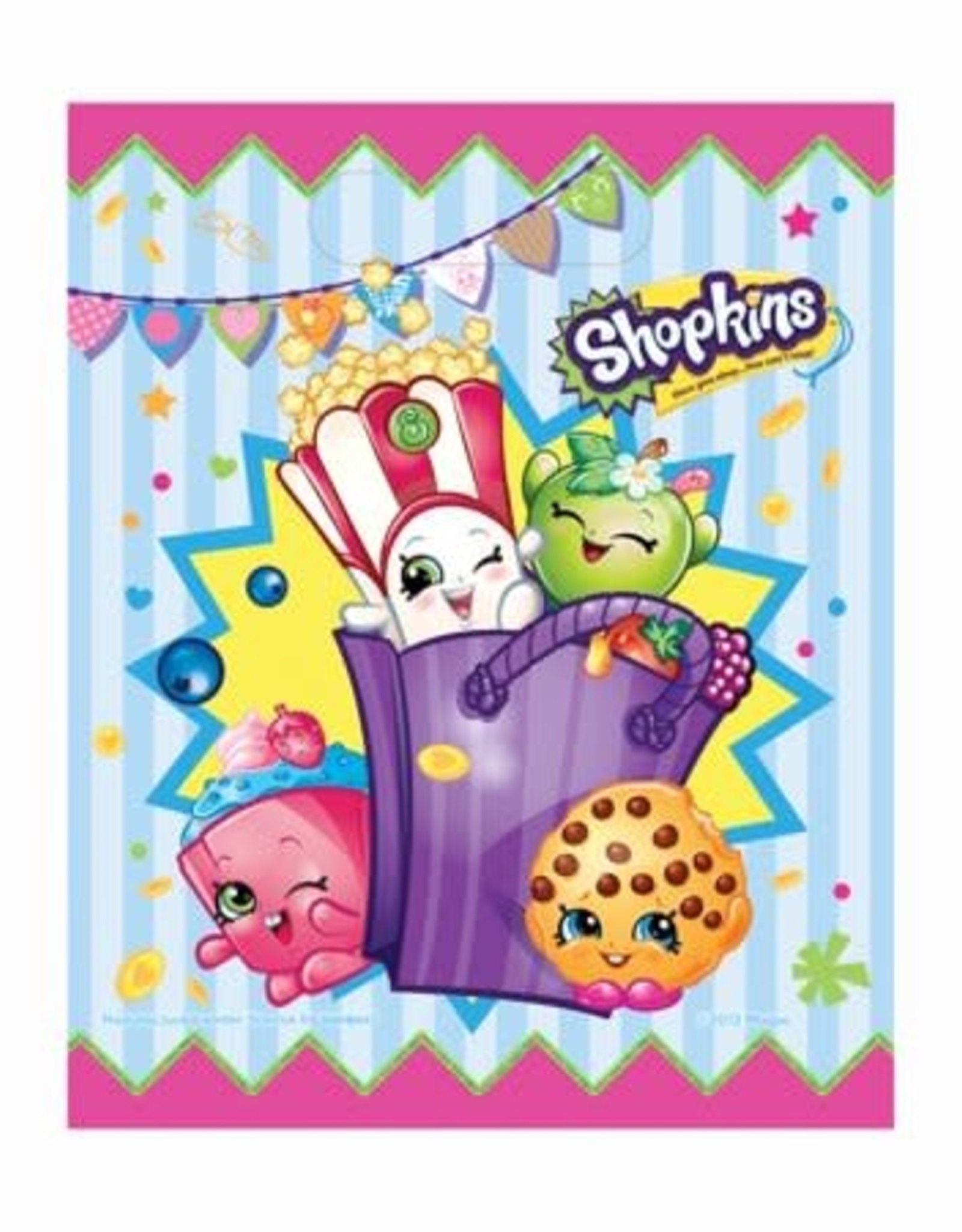 Wallys party factory Shopkins gift bags