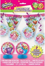 Wallys party factory Shopkins Decoration Kit