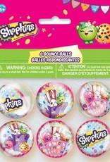 Unique Shopkins Bouncy Balls 6 count