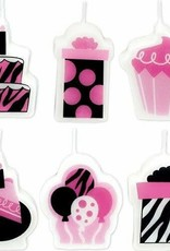 Wallys party factory Birthday Candle Set