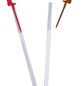Wallys party factory Plastic Boot Stirrers 20 count