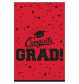 Wallys party factory Congrats Grad Tablecover