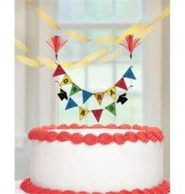 Wallys party factory Congrats Grad Cake Picks