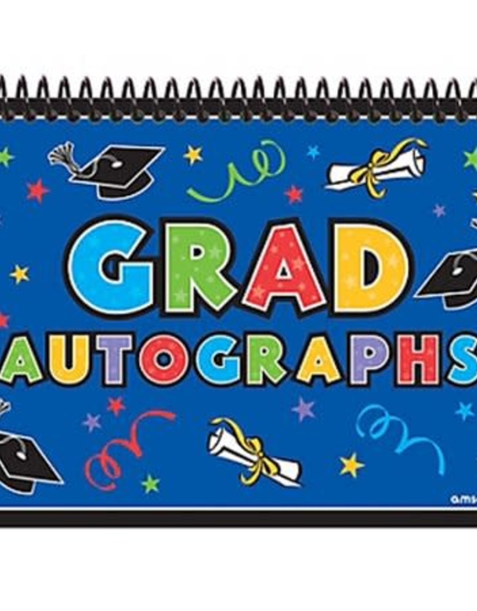Wallys party factory Graduation Notepad