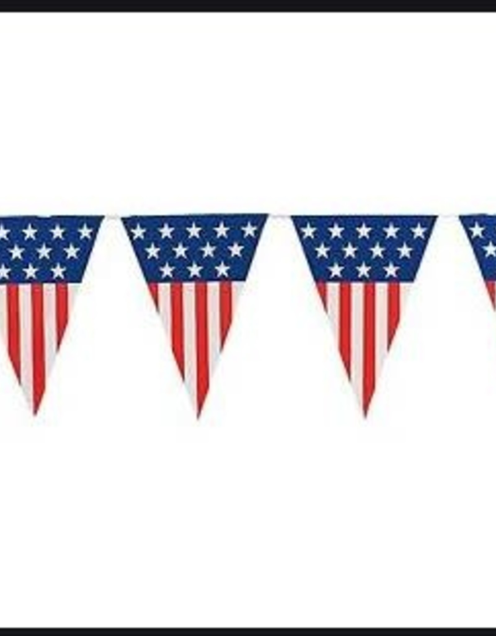 4th of july flag banner