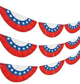 Wallys party factory 4th of july flag bunting
