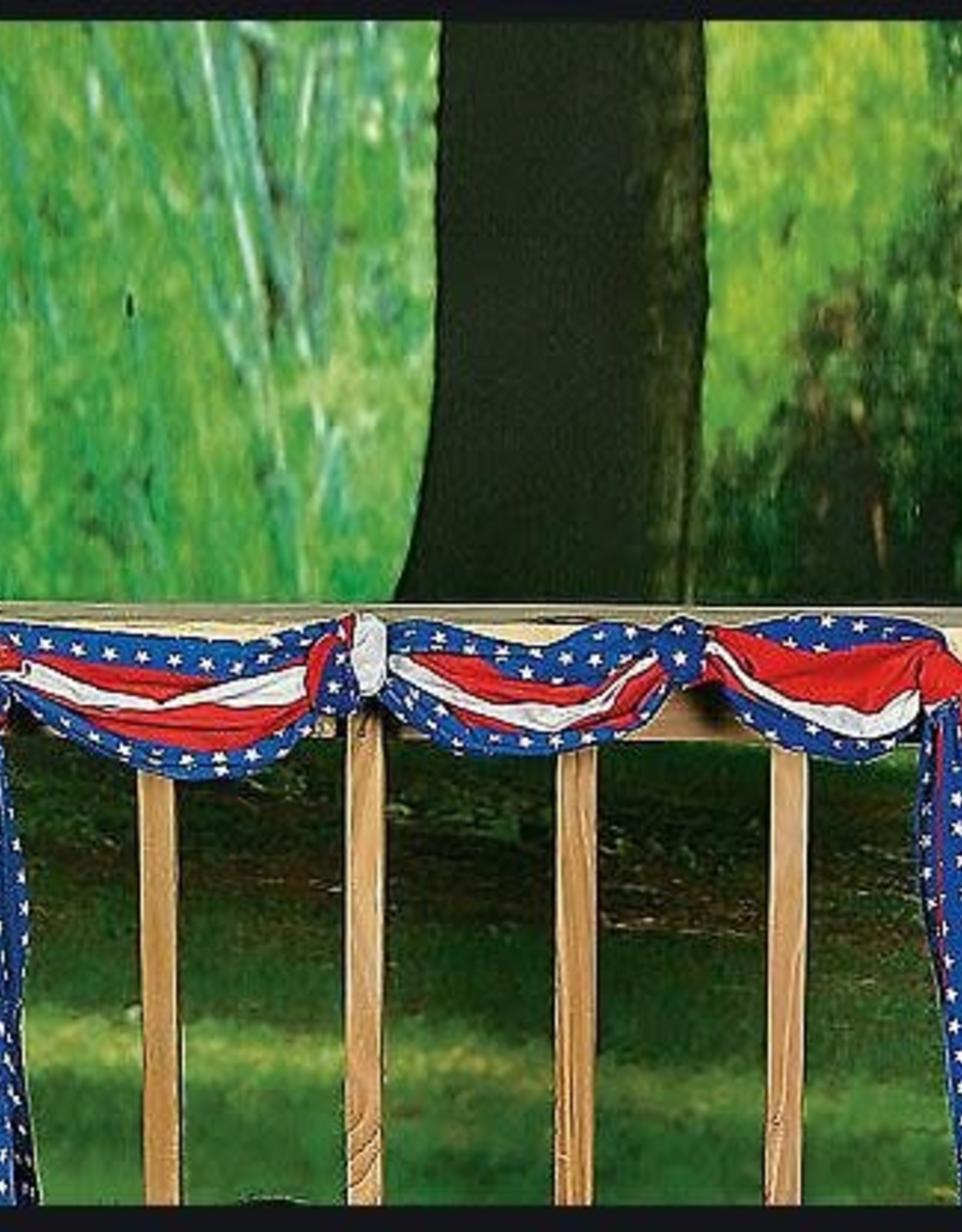 Wallys party factory Usa flag 4th of July Bunting