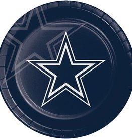 Dallas Cowboy Plates 8 ct
