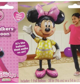Wallys party factory Minnie Mouse Air walker balloon