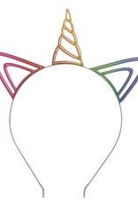Headband Rainbow Unicorn Metal