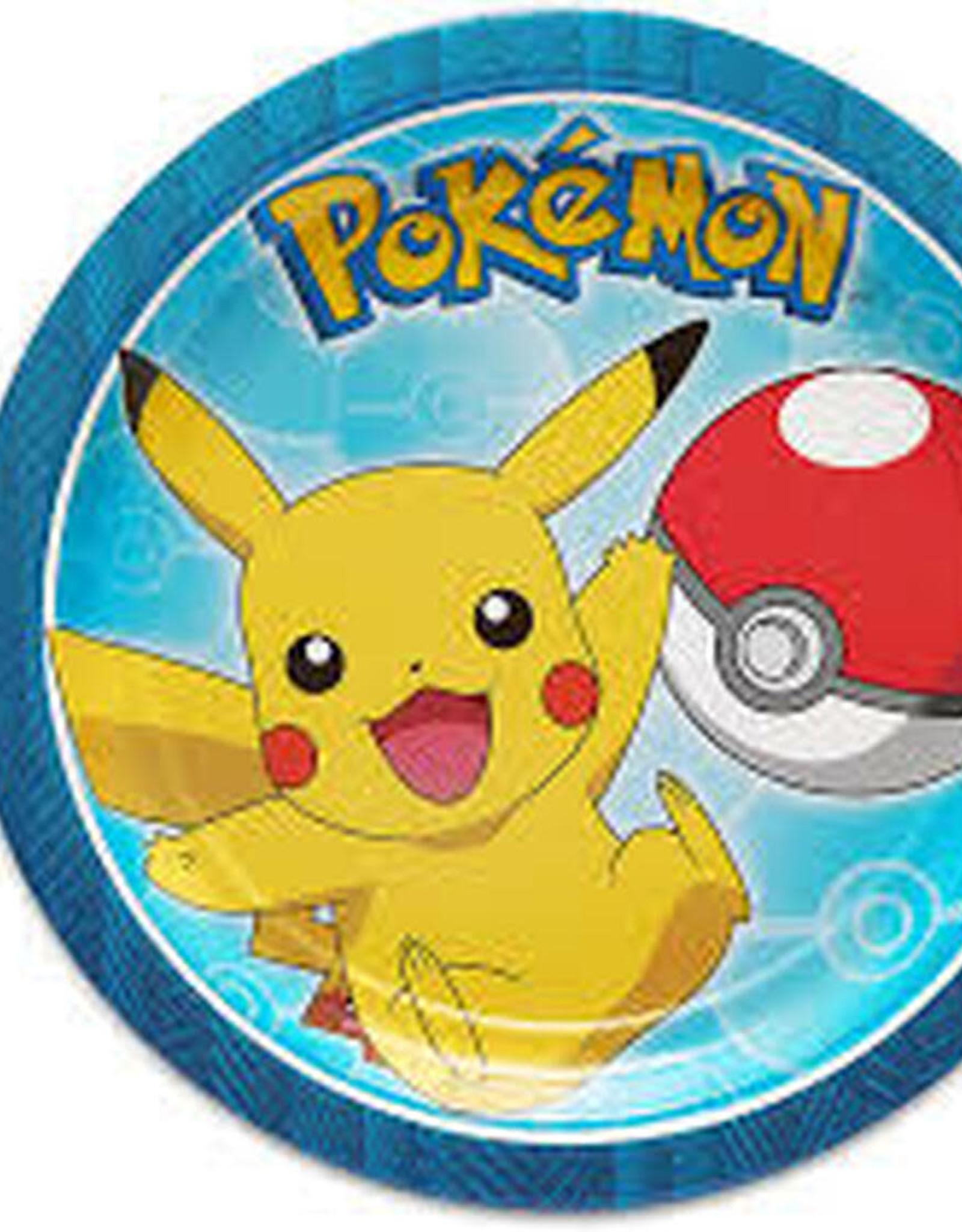 Pokemon 7 in Plate
