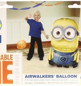 Wallys party factory despicable me minion airwalker balloon