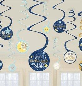 Twinkle Little Star Cutouts 12pc.