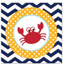 PTYC Ahoy Matey! Crab Napkins