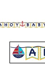 ACCESS Ahoy Matey! Ribbon Banner, Ahoy Baby