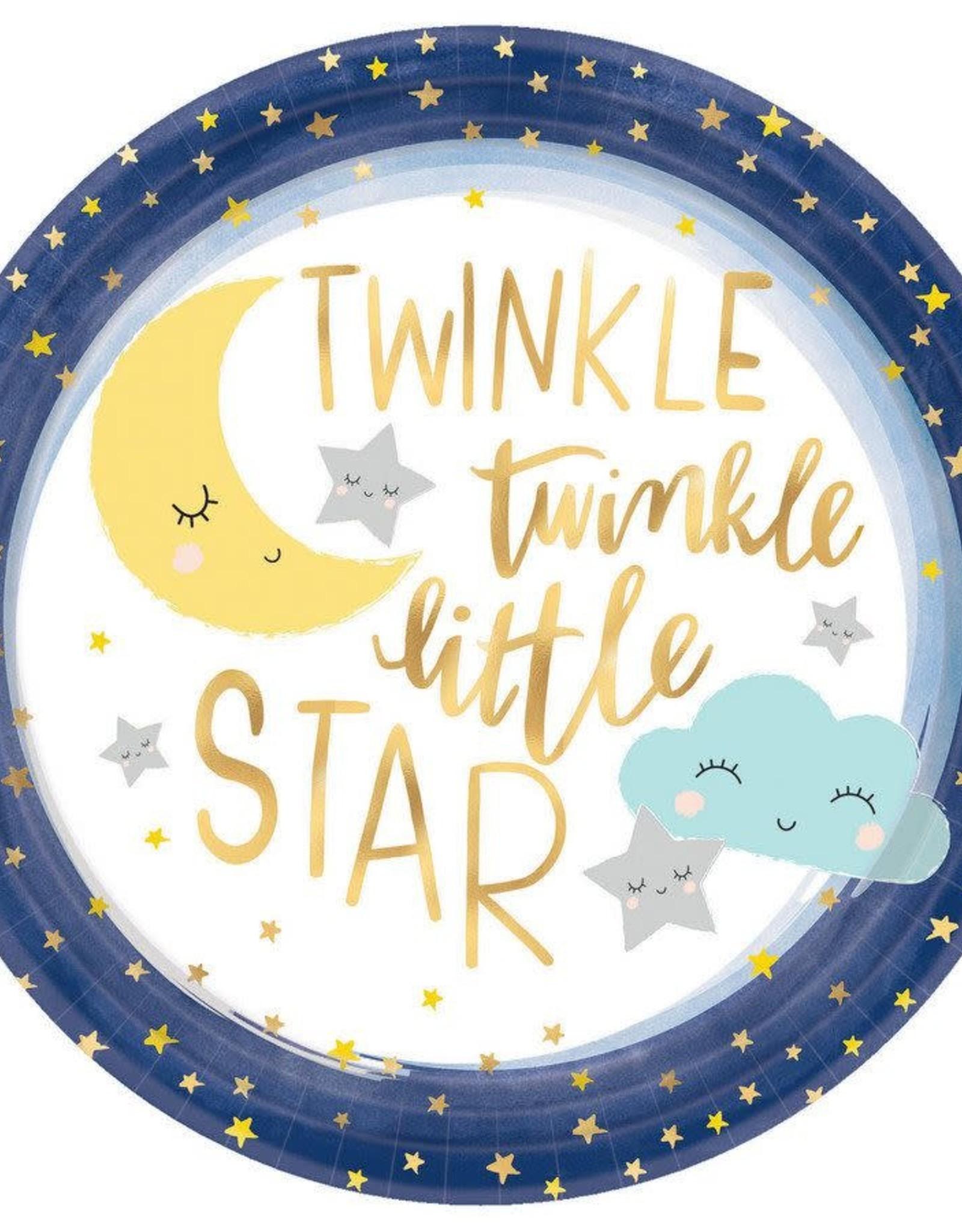 Twinkle Twinkle Star 10.5 In Plate