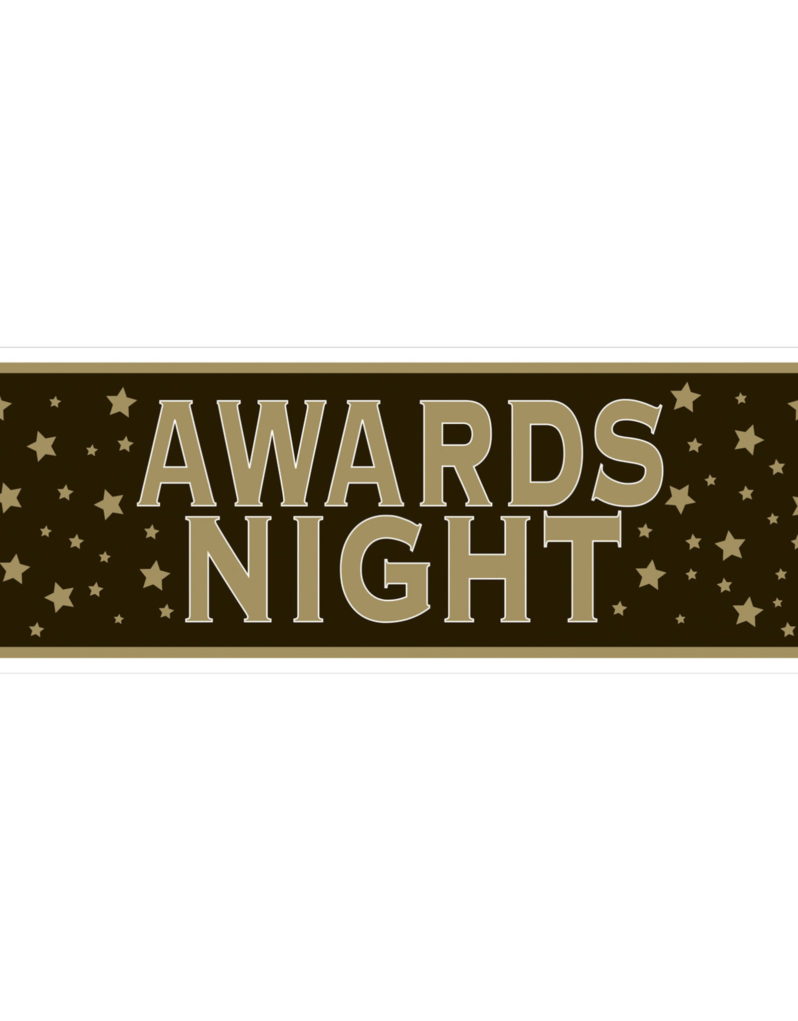 Awards Night Sign Banner