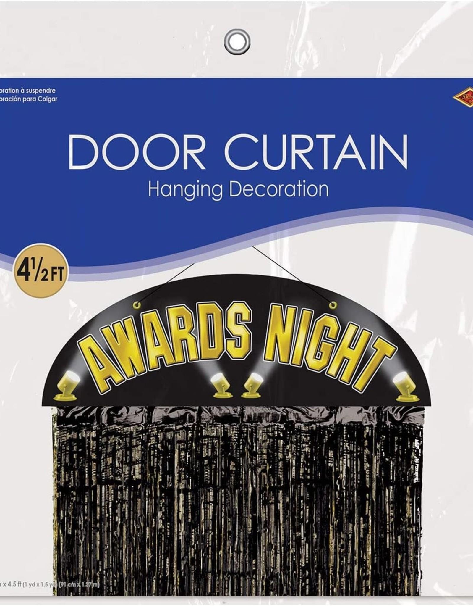 Awards Night Door Curtain
