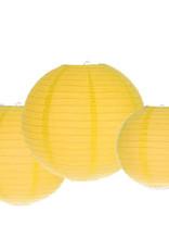 Yellow Round Paper Lanterns