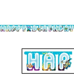 ACCESS Ocean Party Jointed Banner, Happy Birthday