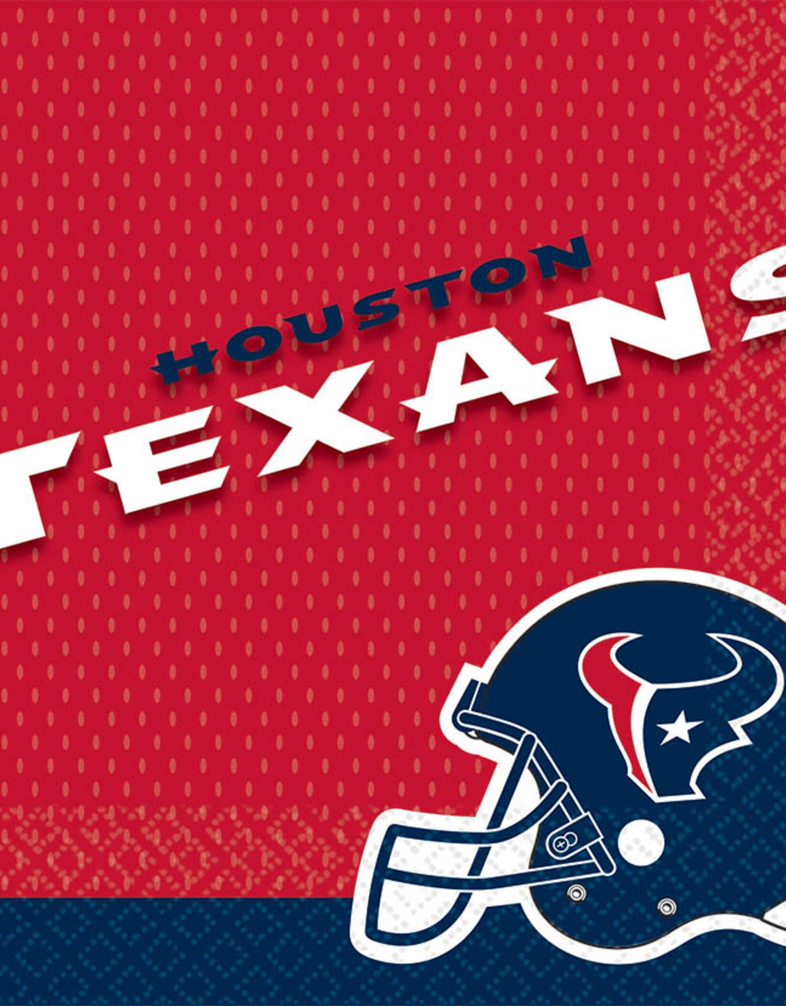 Houston Texans Napkins 16 ct