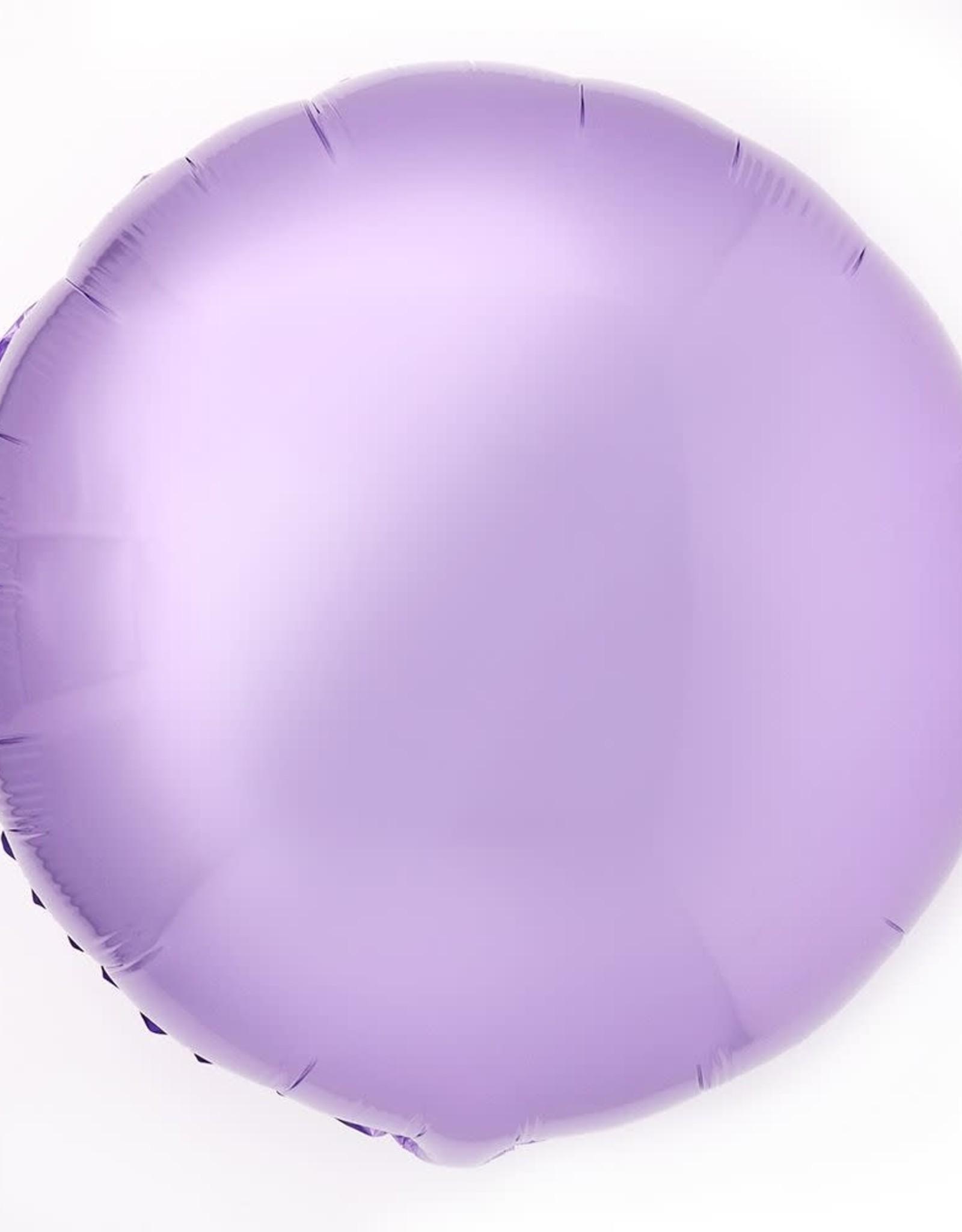 18''Mylar Round CHROME PURPLE