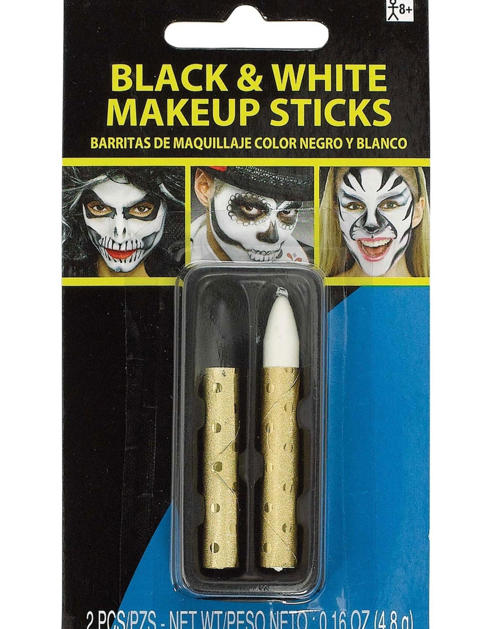 Black and White Makeup Sticks