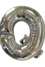 "40"" Silver Letter Q Balloon"