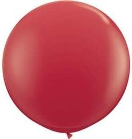 party club 36'' Red Latex Balloons  2ct