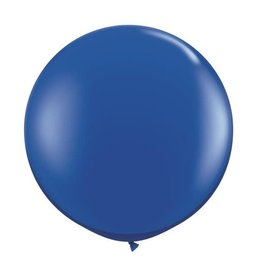 party club 36'' Royal Blue Latex Balloon 2ct