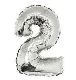 40'' SILVER # 2 Balloon