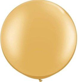 Party Supplies USA 36'' Metallic Gold Latex Balloon 2ct