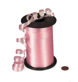 Wallys party factory Light Pink Curling Ribbon