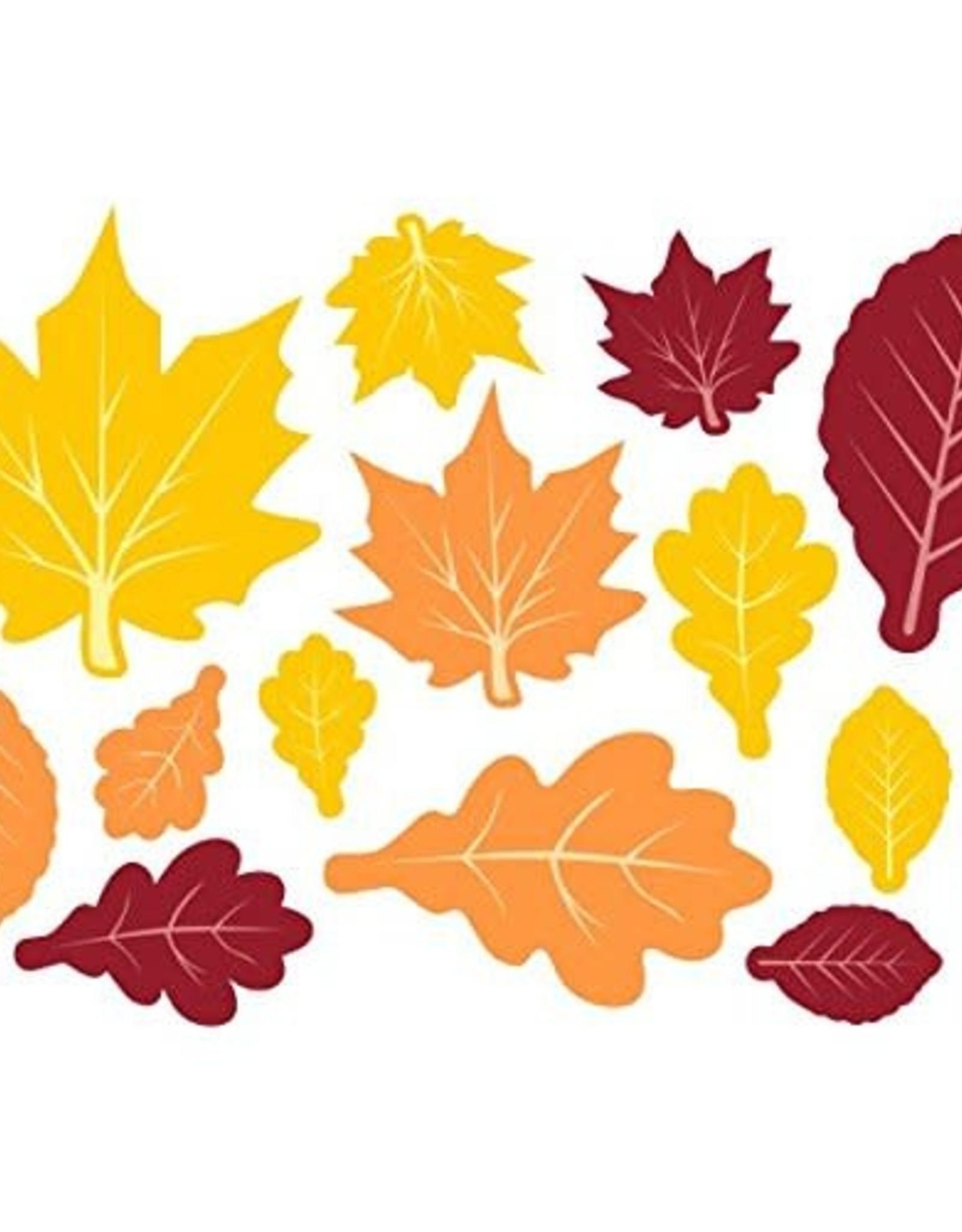 Cutouts Fall Leaves Decoration 30 pc