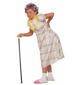 Aunt Gertie Child Halloween Costume