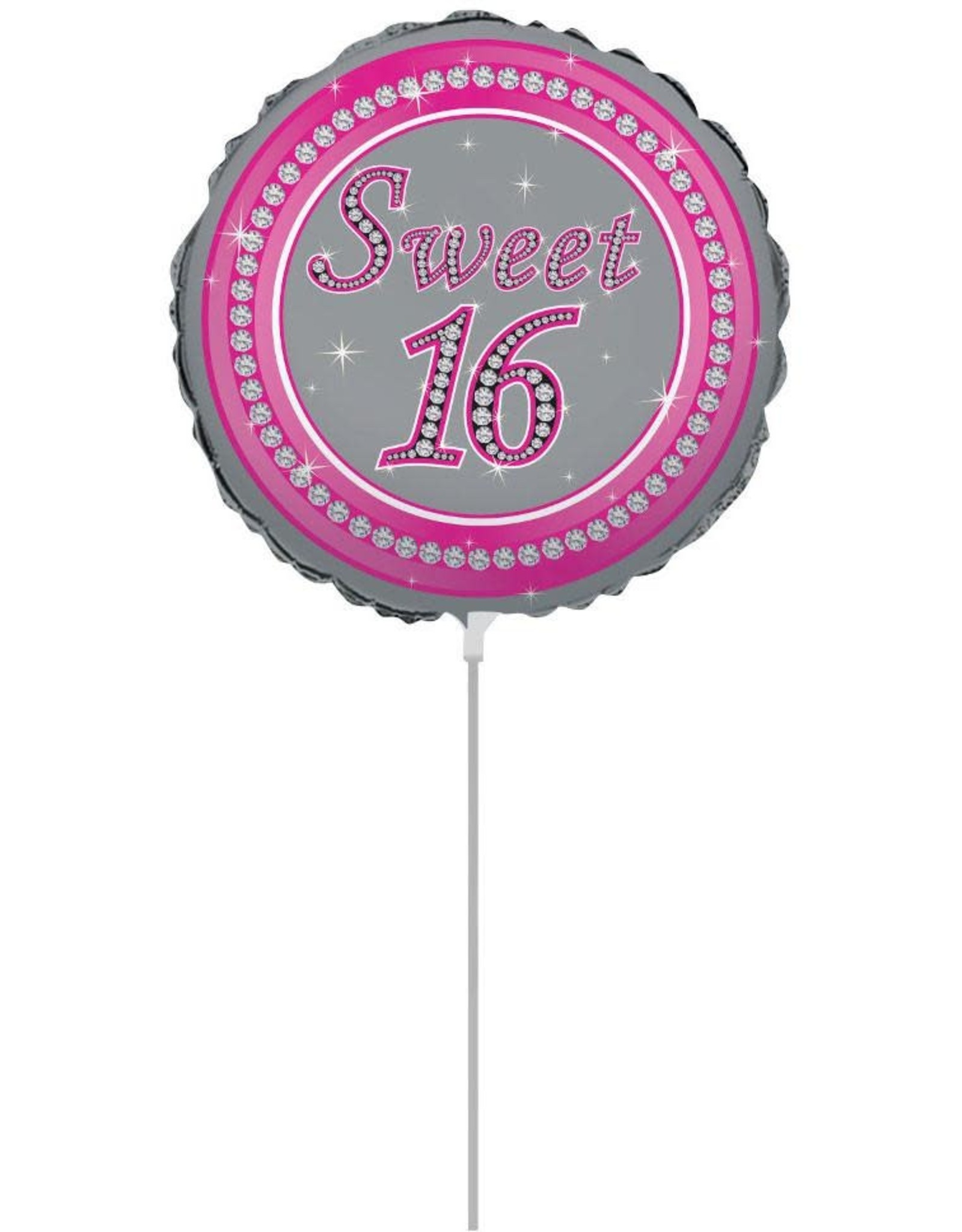 Wallys party factory Sweet 16 Air Filled Balloon