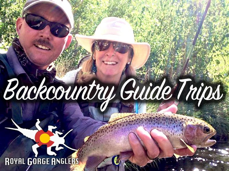 Backcountry Fly Fishing Guide Trips. Guide Trip Arkansas River, Colorado.