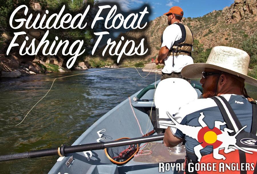 Arkansas River Float Fishing Guide Trips. Guide Trip Arkansas River, Colorado.