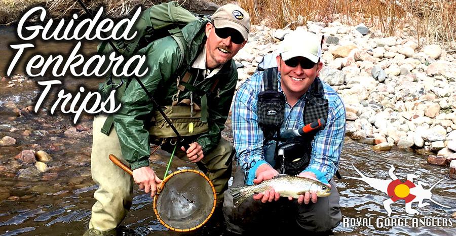 Guided Tenkara Fly Fishing. Colorado Tenkara
