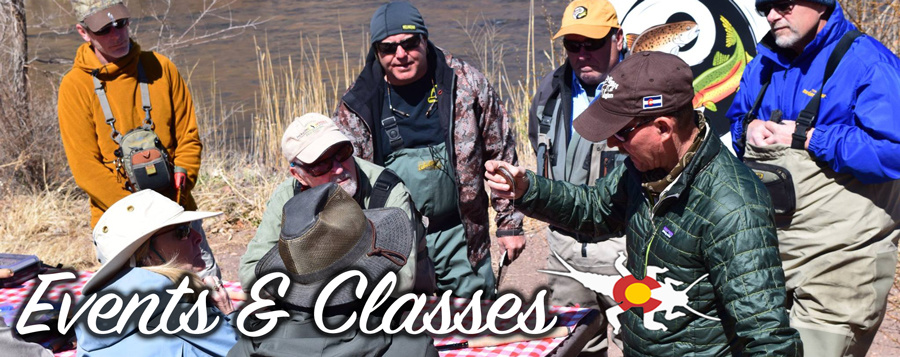 Fly Fishing events and classes at Royal Gorge Anglers