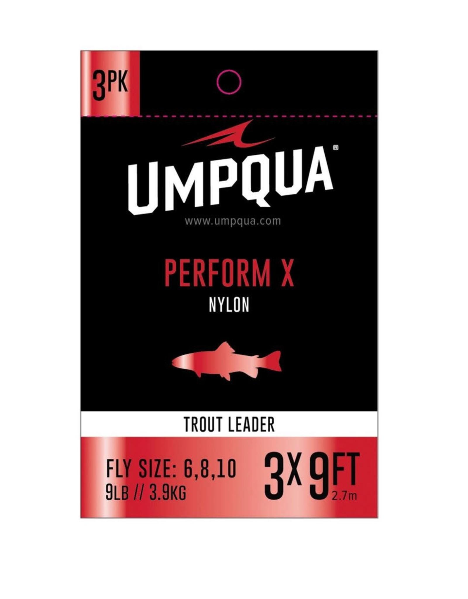 Umpqua Umpqua Perform X Nylon Leader (3 Pack)