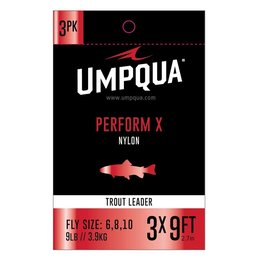 Umpqua Umpqua Perform X Nylon Leader (3 Pack)
