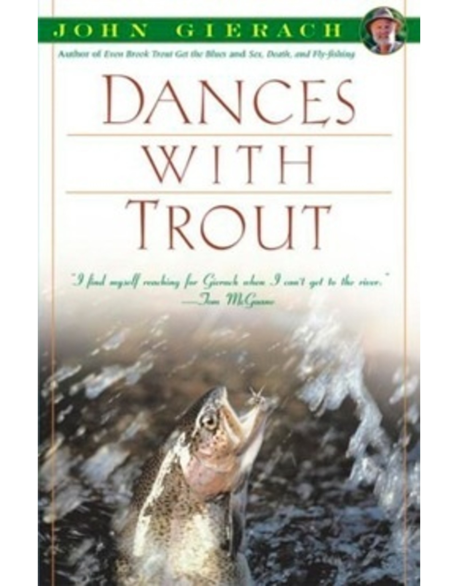 Books Dances with Trout by John Gierach