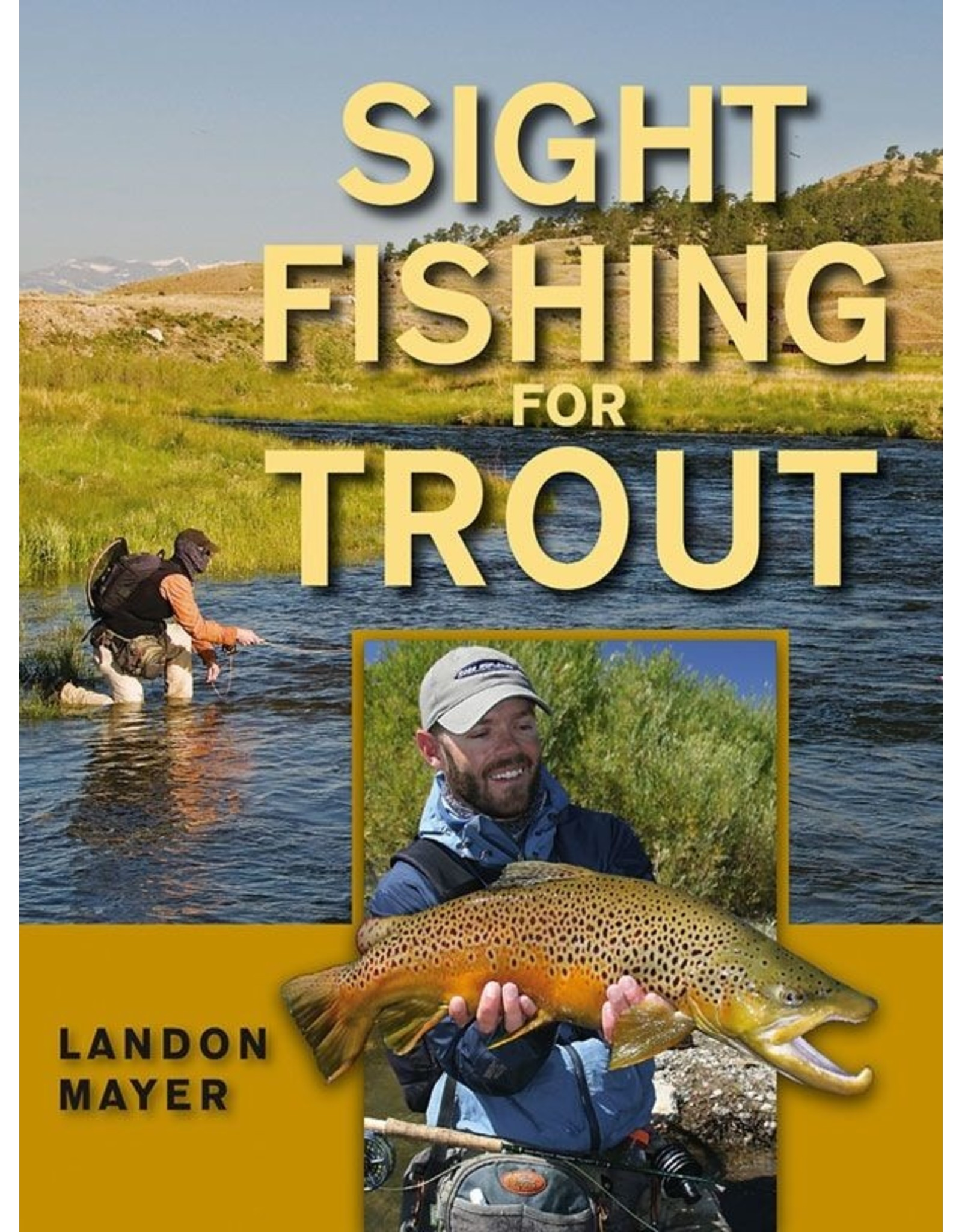 Books Sight Fishing for Trout by Landon Mayer