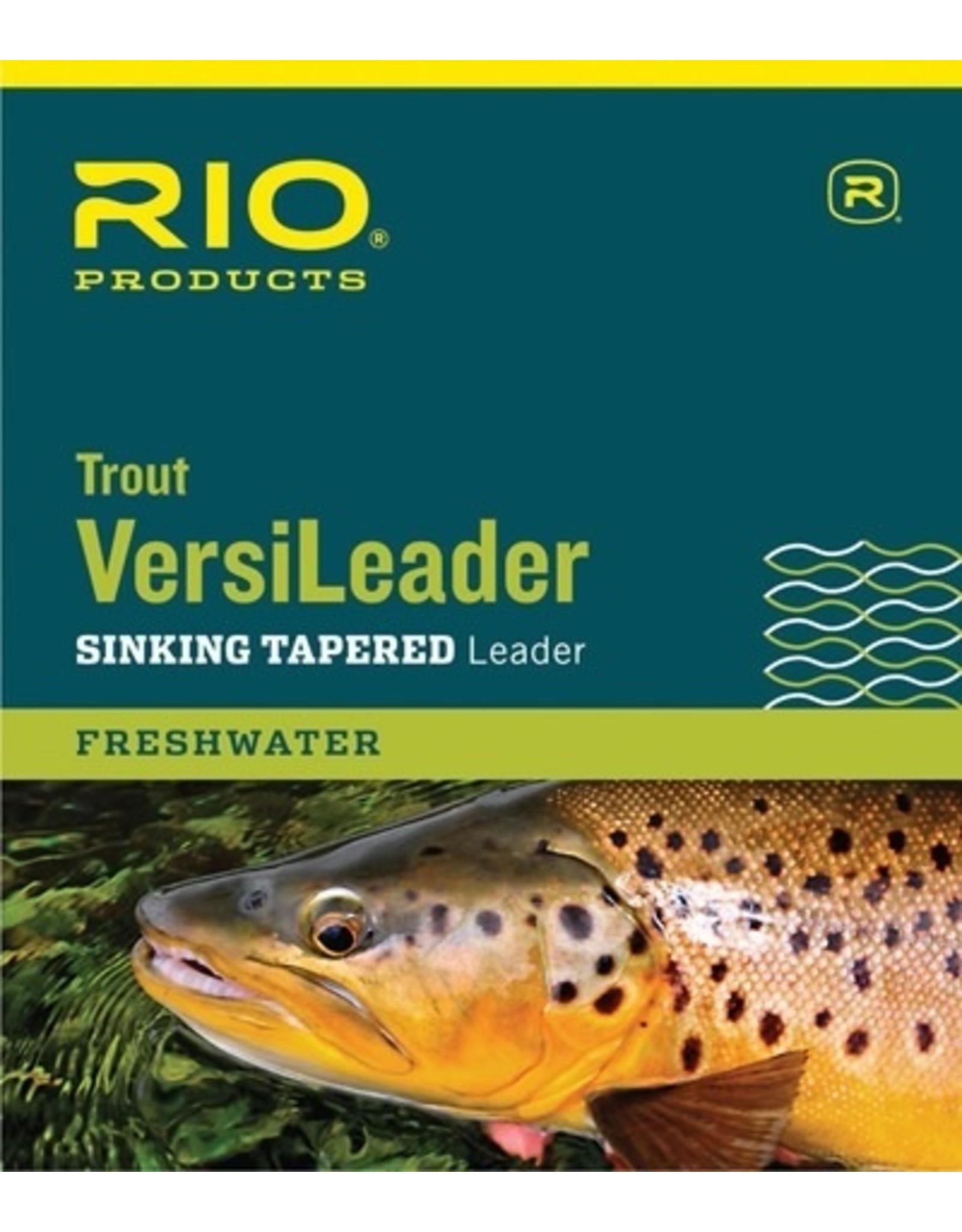 Rio Rio Trout Versileader 7ft 12lb 7.0ips