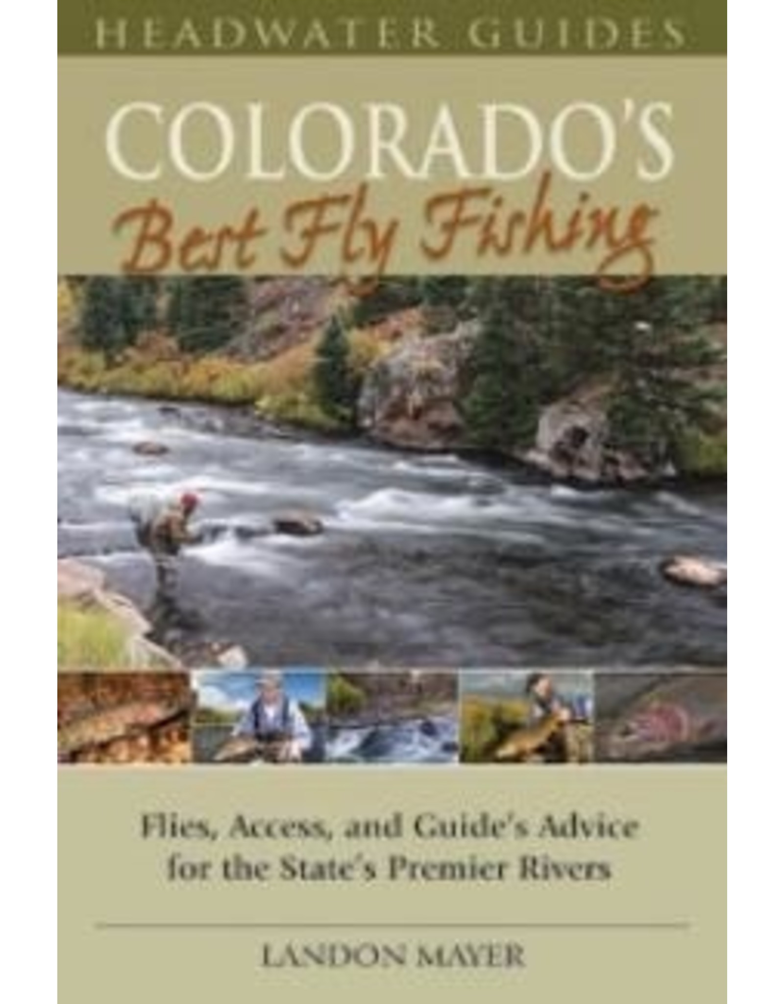Books Colorado's Best Fly Fishing by Landon Mayer