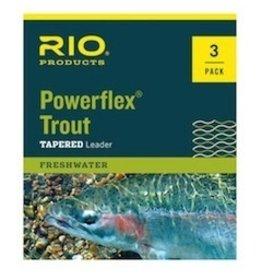 Rio Rio Powerflex Trout Leaders 3pk